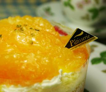 オレンジのスイーツ