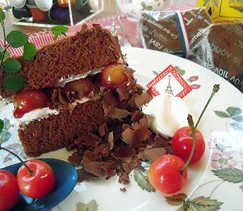 チョコレート・シフォン(シュバルツバルダー風)